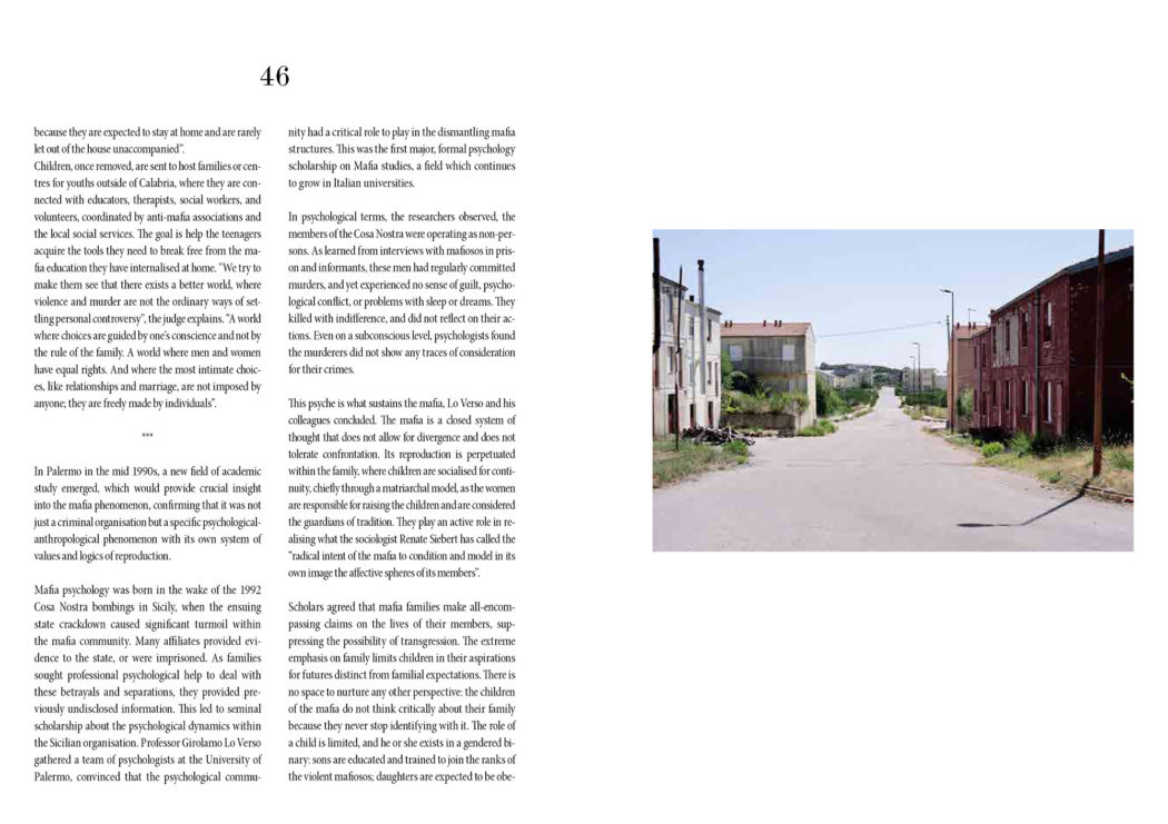 Editorial - Berlin Quaterly - Aspromonte