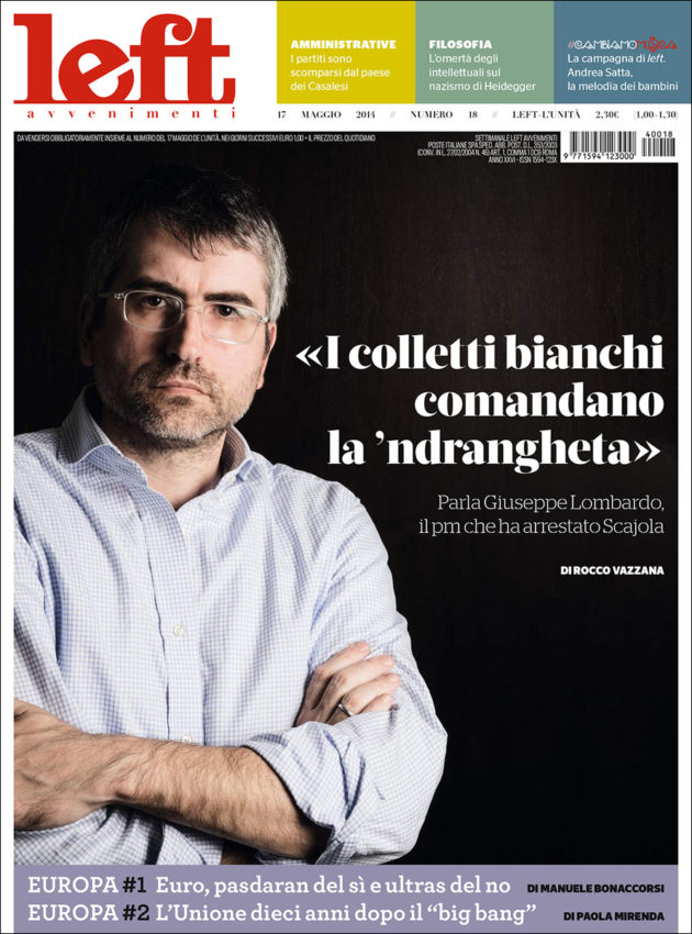 Editorial - Giuseppe Lombardo - Left - Reggio Calabria