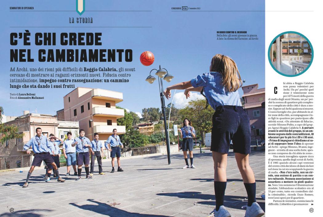 Editorial - Credere - Archi - Scout